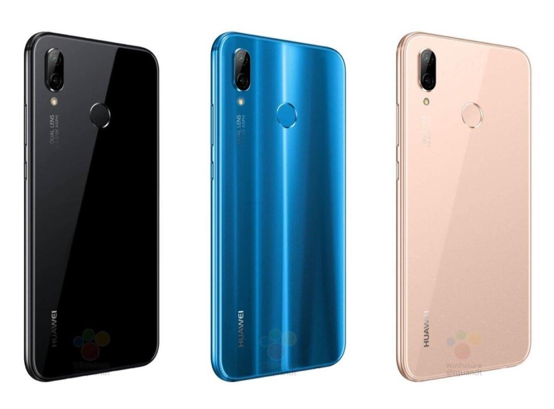 Huawei P20 Lite Leak Farben