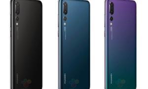 Huawei P20 Pro Leak Farben