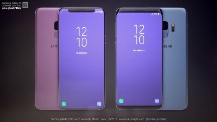 Samsung Galaxy S9 Notch 10