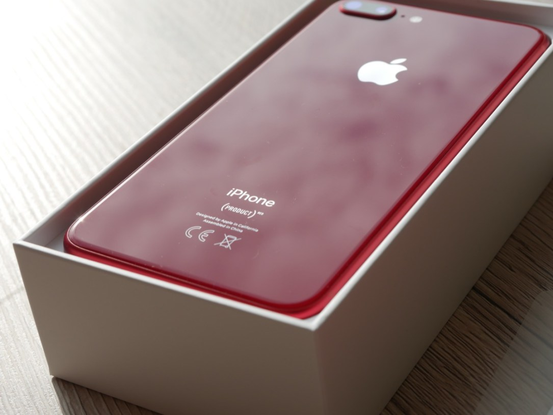 Apple Iphone 8 Red Unboxing7