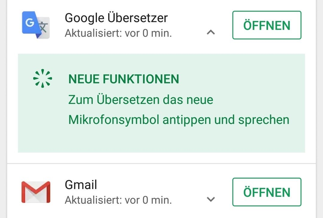 Google Play Store Changelog