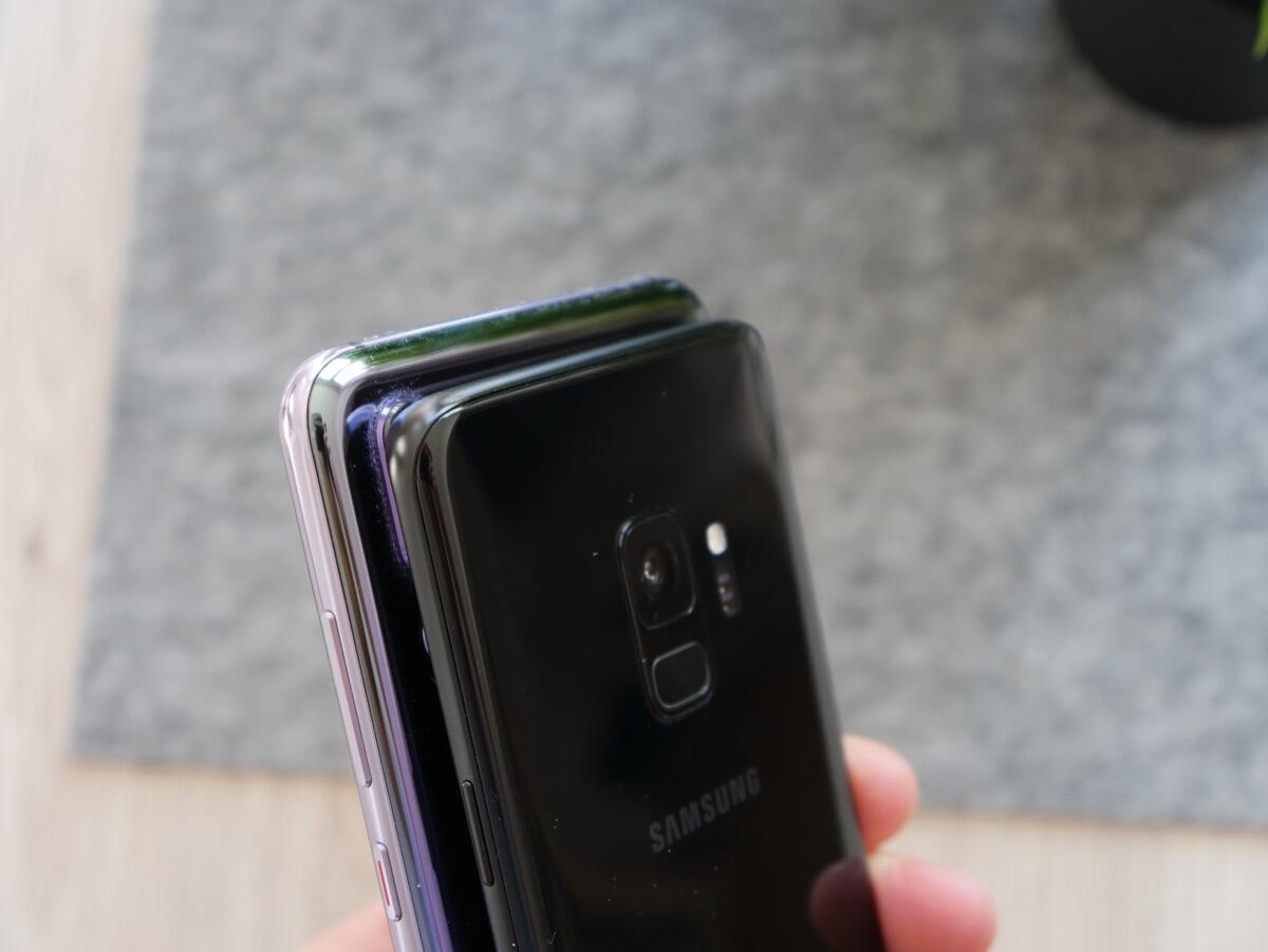 Huawei P20 Pro Samsung Galaxy S9 Vgl4