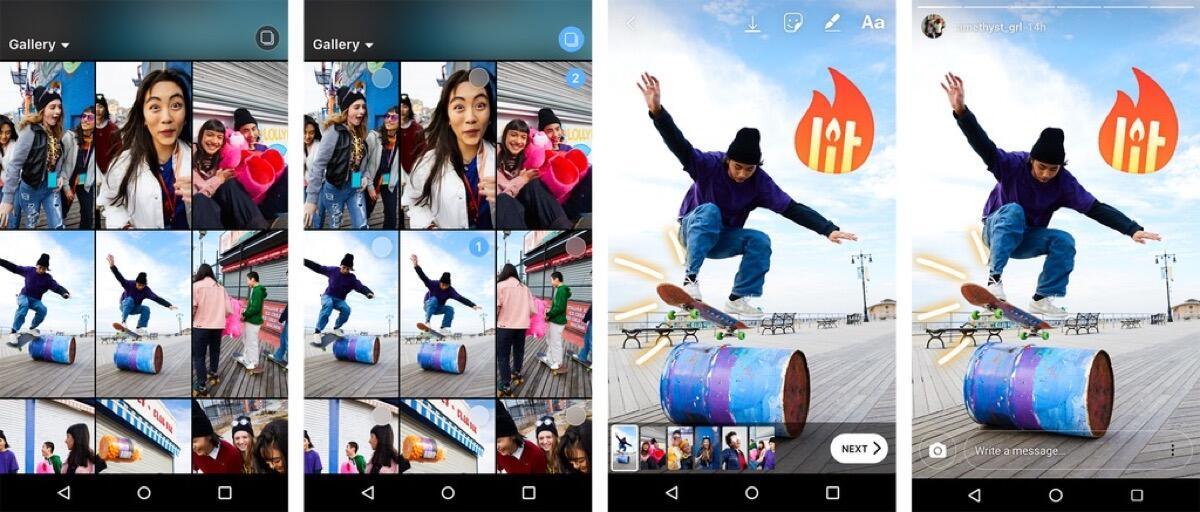 Multiupload Group Instagram