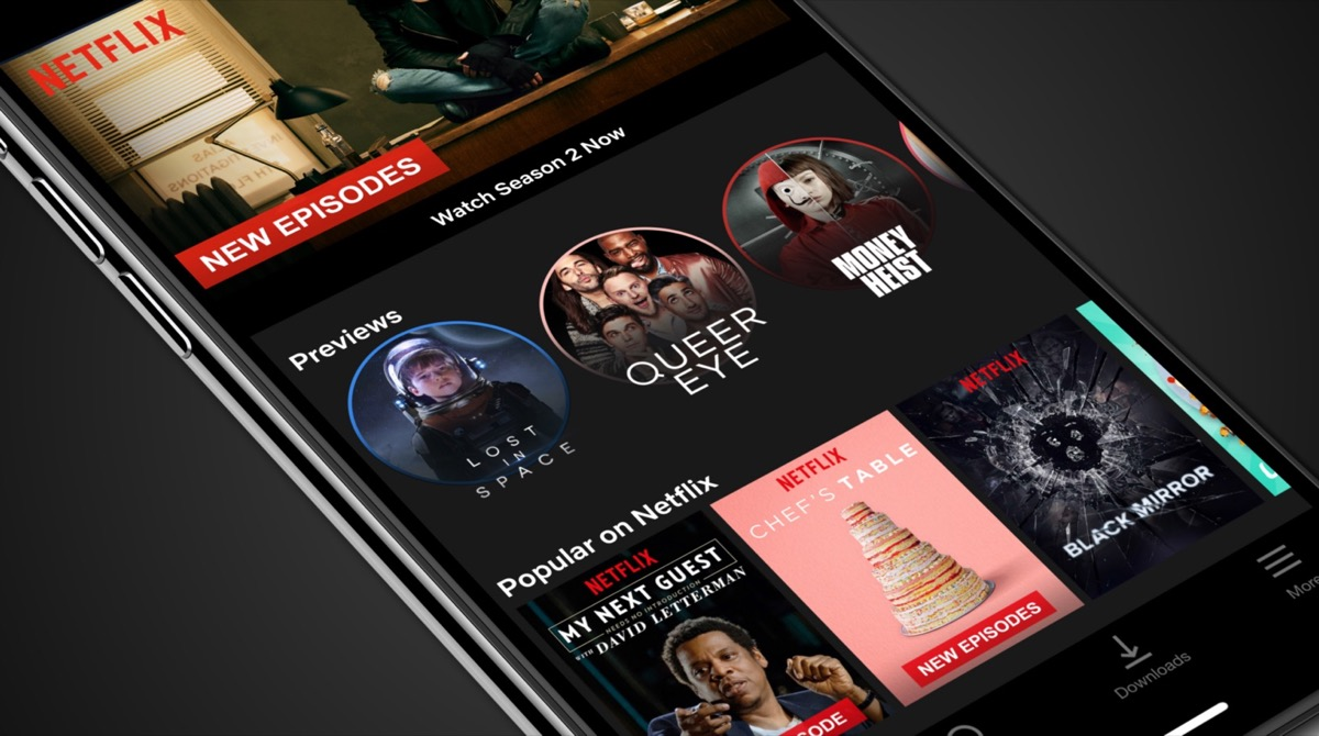 Netflix App Video Previews