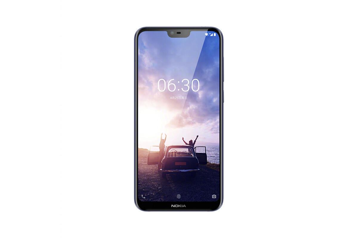 Nokia X Frontseite