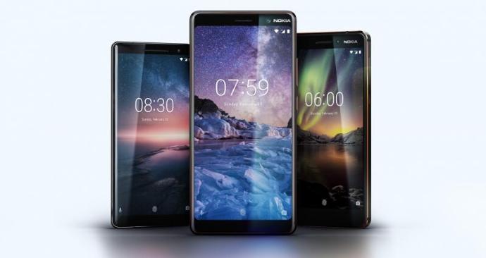 Nokia 6 2018 7 Plus 8 Sirocco