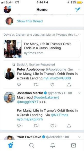 Twitter Group Tweet News