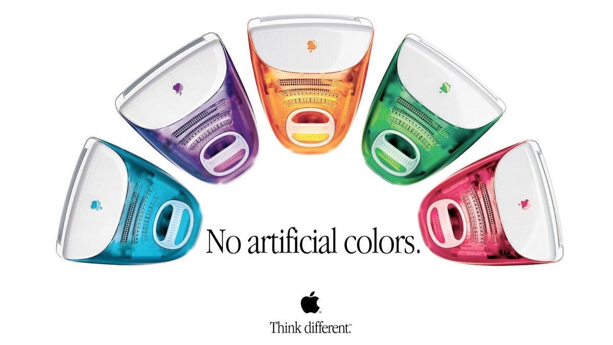 Apple Imac Farben