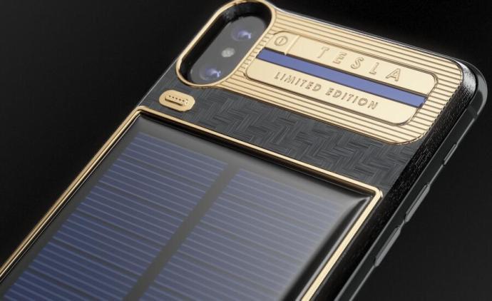 Apple Iphone X Tesla