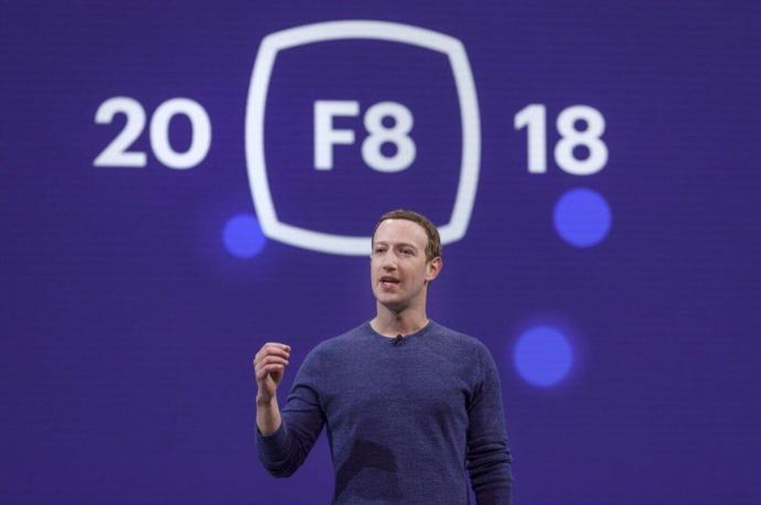 Facebook F8 2018 Mark Zuckerberg Header
