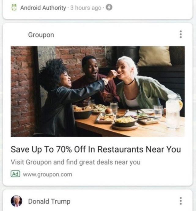 Google Feed Werbung