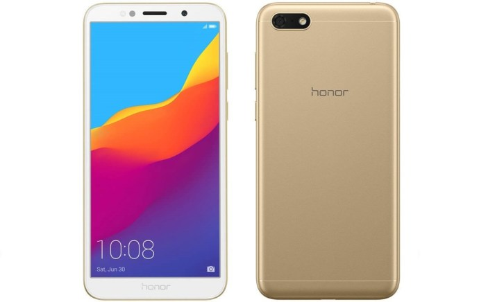Honor 7s Gold