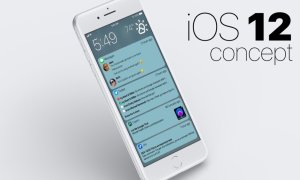 Ios 12 Notifications Concept Header