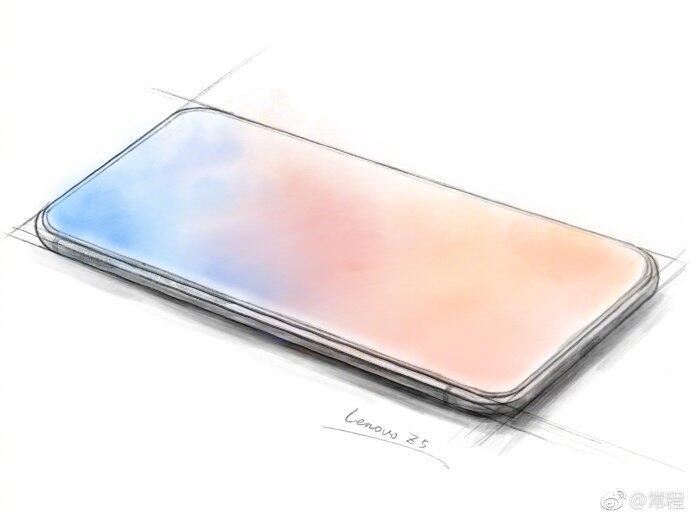 Lenovo Z5 Skizze
