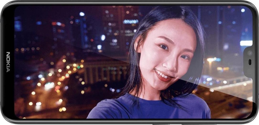 Nokia X6 Front