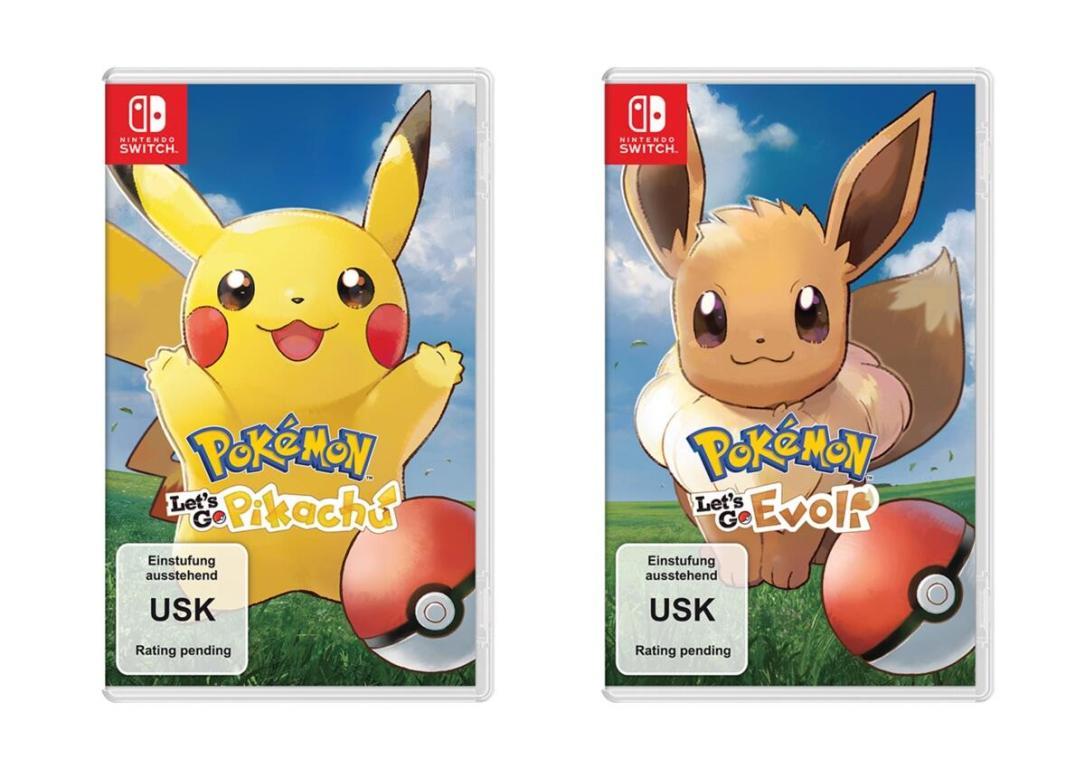 Pokemon Lets Go Pikachu Eevee Nintendo Switch