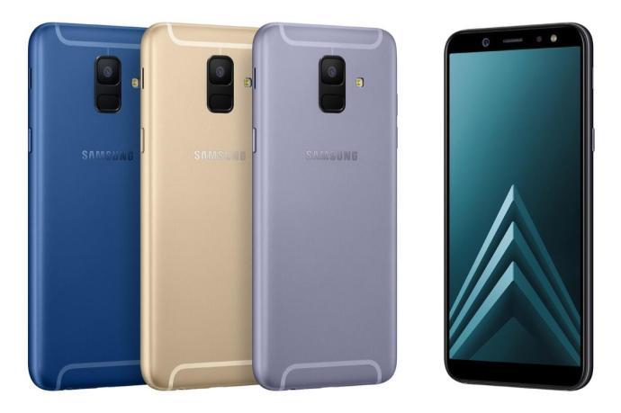 Samsung Galaxy A6 Header