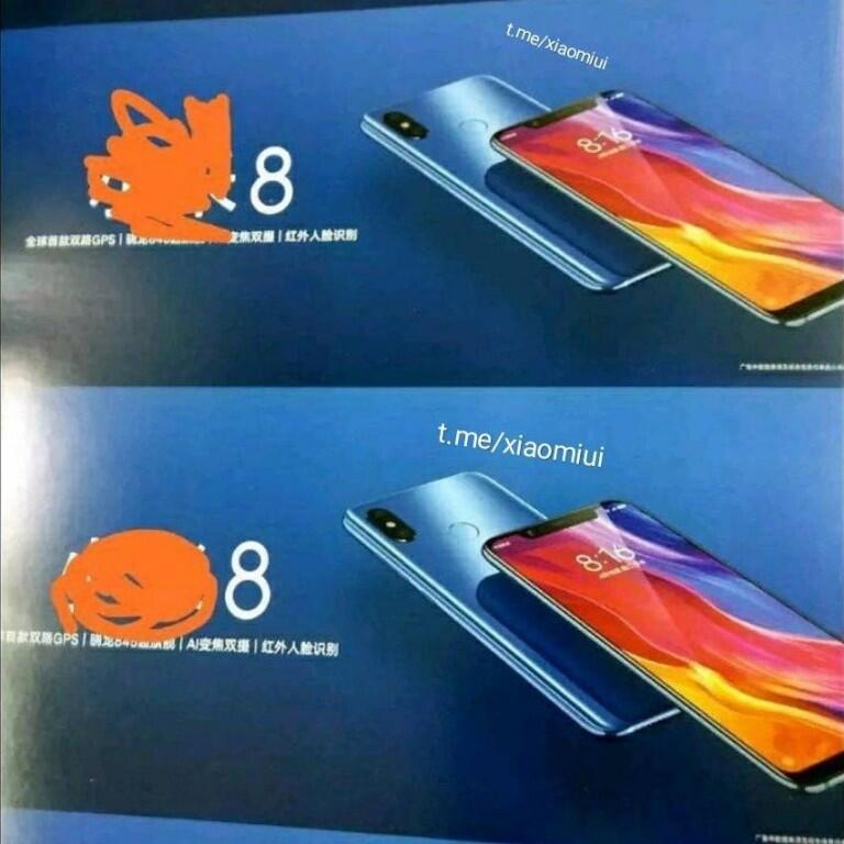 Xiaomi Mi 8 Leak