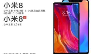 Xiaomi Mi 8 Und Mi 8 Se