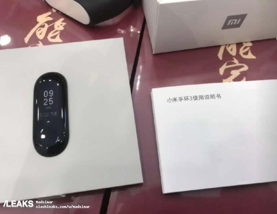 Xiaomi Mi Band 3 Leak1