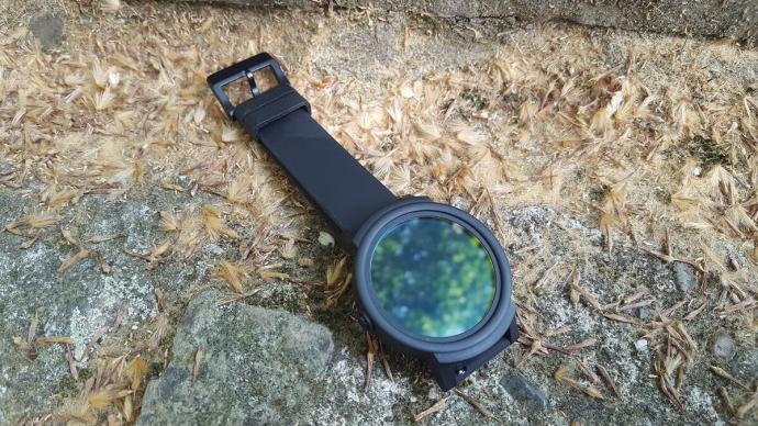 Ticwatch E Button