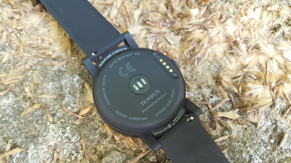 Ticwatch E Pulssensor