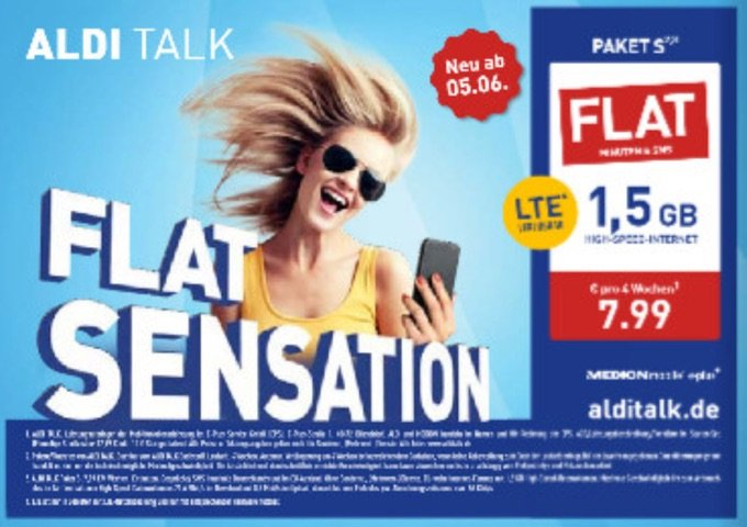 Aldi Talk Flat Sensation