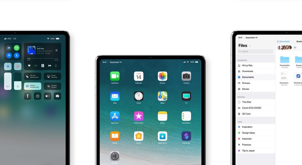 Apple Ipad Pro 2018 Konzept Header