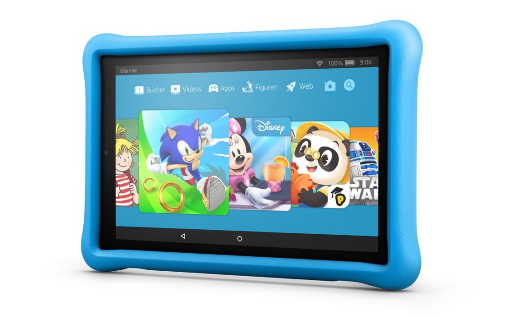 Fire Hd 10 Kids Edition Blue Side De
