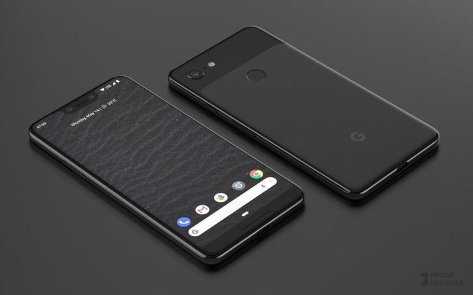 Google Pixel 3 Xl Mockup Header