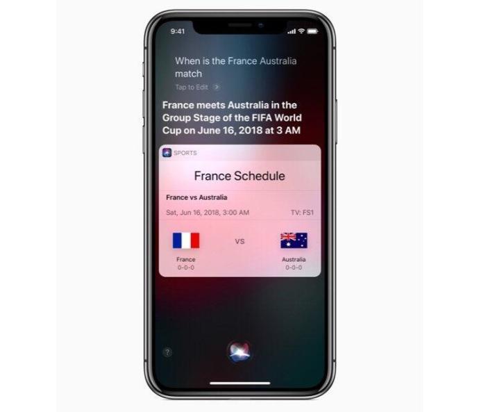 Iphone X Siri World Cup