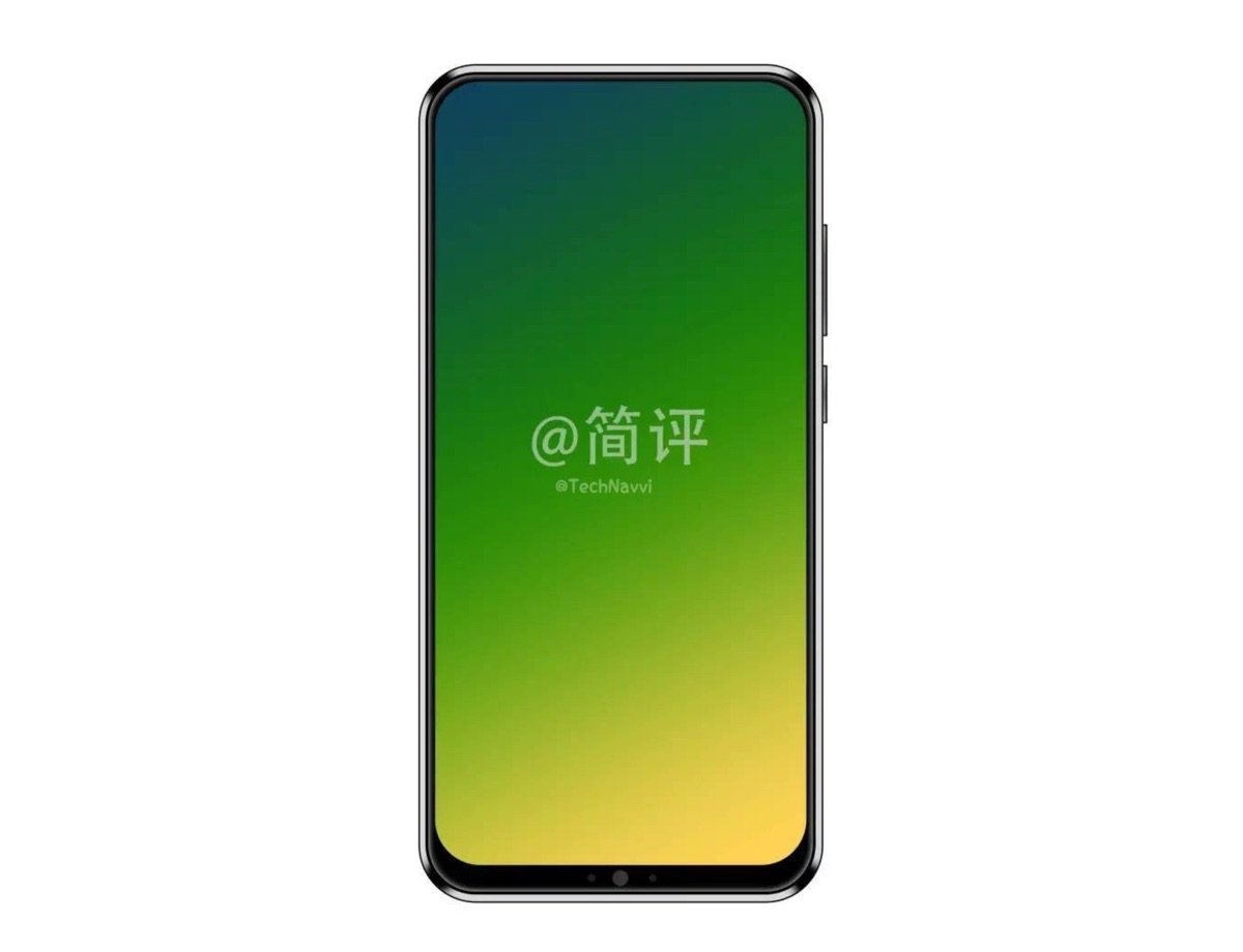 Lenovo Z5 Render Header