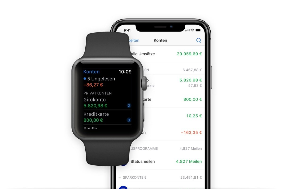 Outbank Apple Watch
