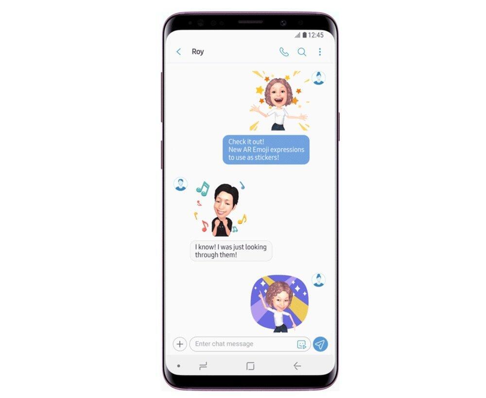 Samsung Ar Emoji Sticker