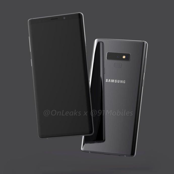 Samsung Galaxy Note 9 Render2