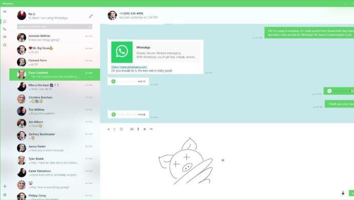 Whatsapp Uw App