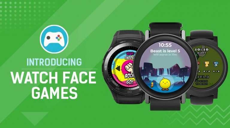 Facer Watch Face Games 768x427