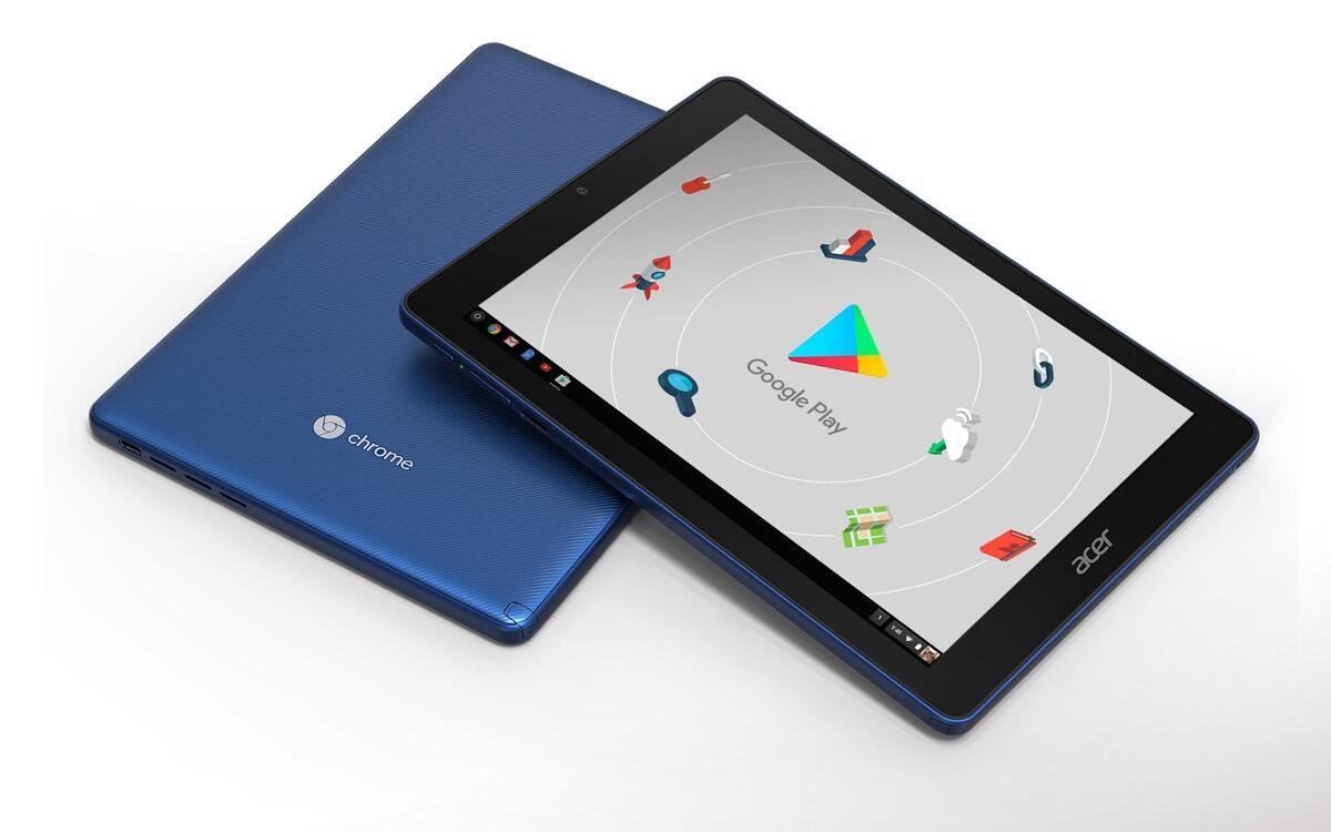 Google Chrome Os Chromebook Tablet