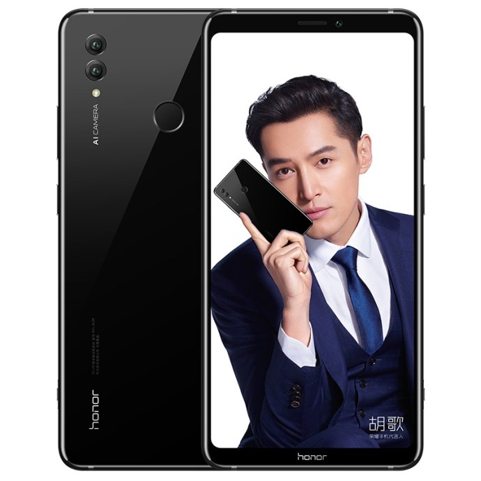 Honor Note 10 Schwarz