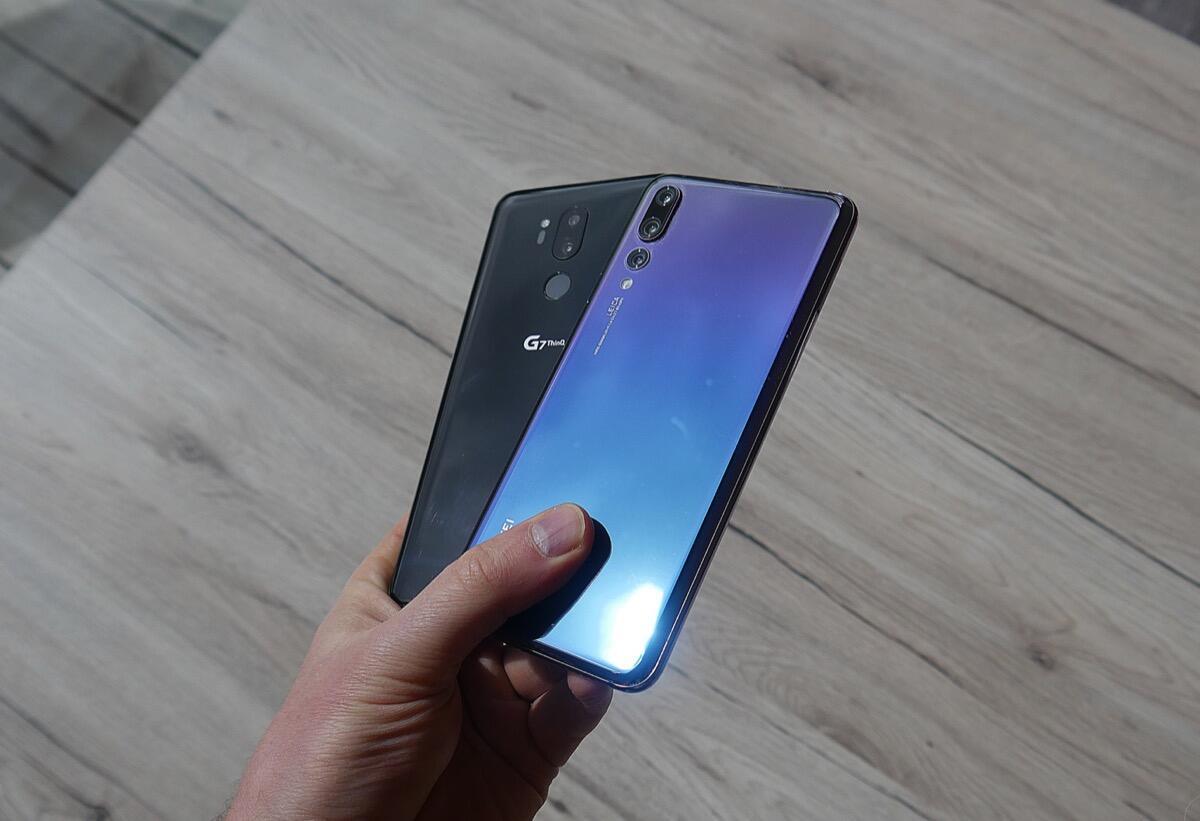 Huawei P20 Pro Lg G7 Header