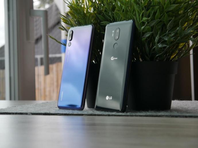 Huawei P20 Pro Lg G7 Test1