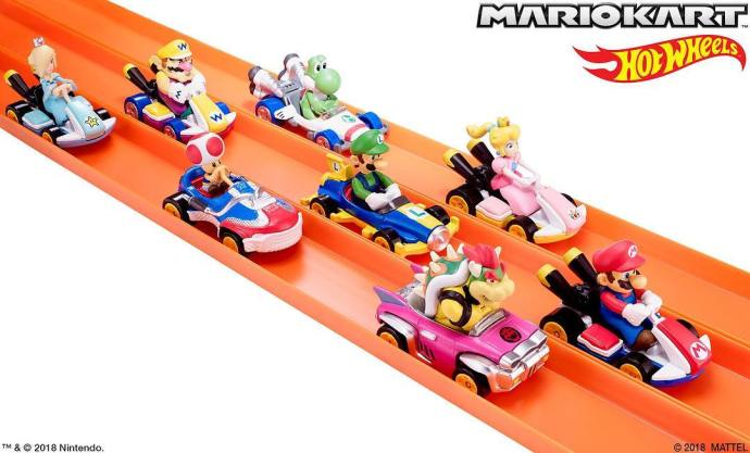 Mario Kart Hot Wheels Mattel Nintendo