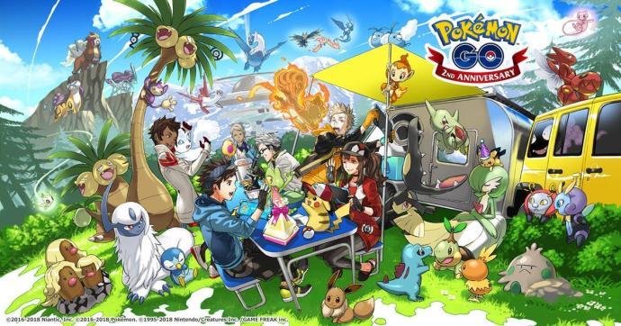 Pokemon 4 Generation Teaser