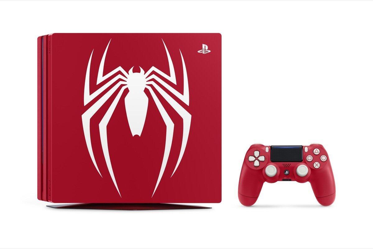 Sony Ps4 Pro Spider Man Header