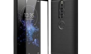 Sony Xperia Xz3 Case Leak Front Back