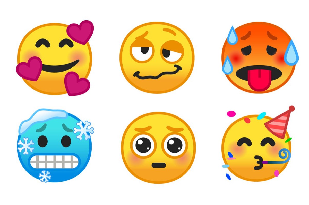 Android 9 Pie Emoji Smiley