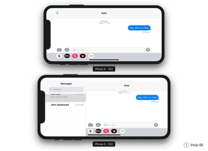 Apple Iphone X Plus Ios 12 Screen1