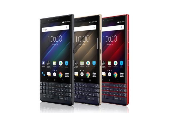 Blackberry Key2 Le Header