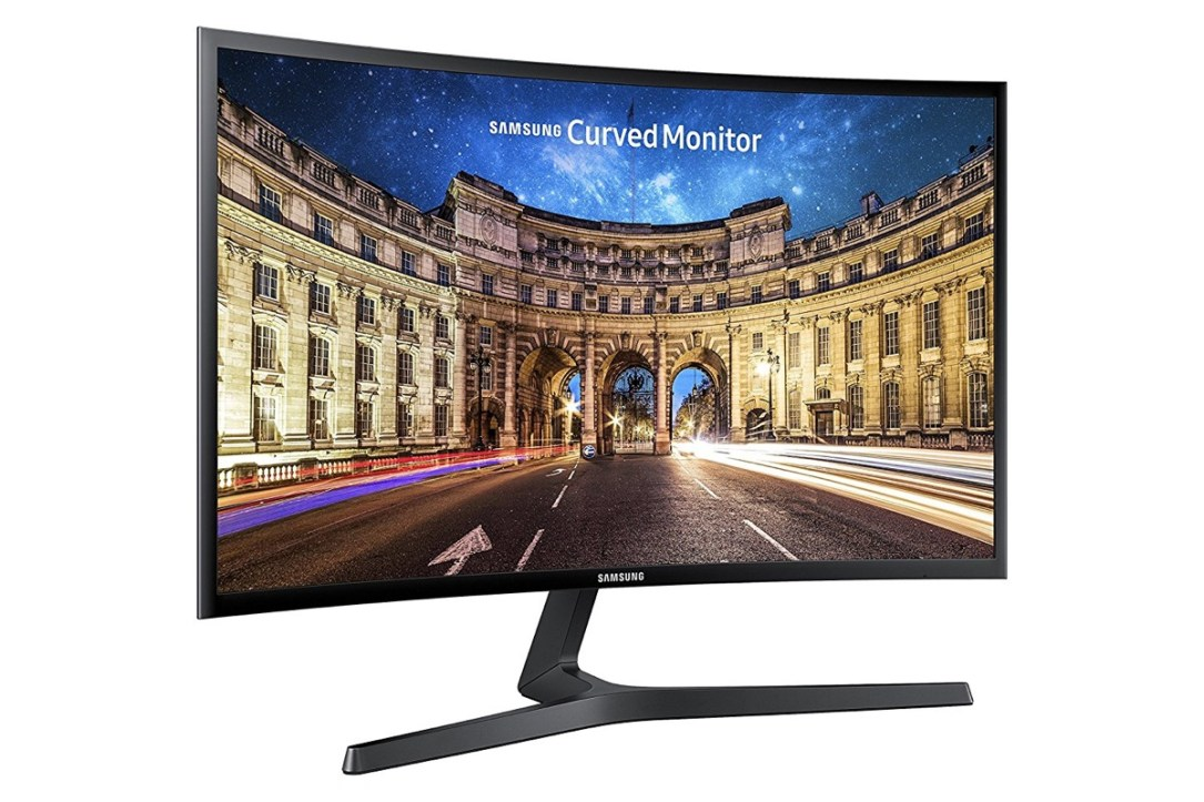 Curved Samsung Monitor