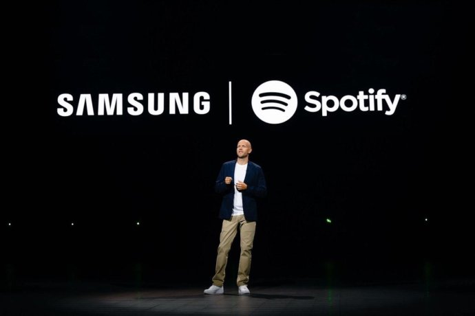 Daniel Ek Spotify Samsung Header